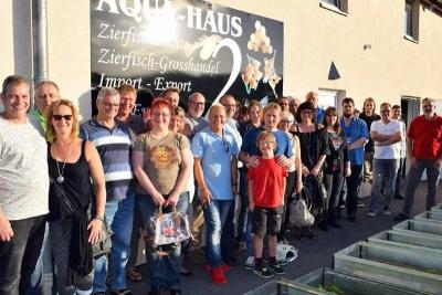 Regionalgruppe NRW im Aqua-Haus Dülmen